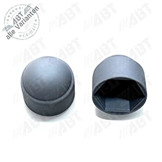 Abdeckkappen M10 für Sechskantschrauben, grau, 100 Stück