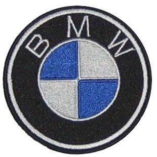 Preisvergleich Produktbild alles-meine.de GmbH BMW 6, 7 cm Bügelbild Aufnäher Applikation Motorrad Fahrzeug Motorräder R 1200 C 600 1000R Automobil