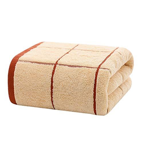 WYQ Handtuch Soft Luxury Bath Sheet Baumwolle, atmungsaktiv Schnell trocknend Schimmelbeweis Hohe Wasseraufnahme, Family Hotel Spa Multifunktions-Badetücher Duschtücher (Farbe : C, größe : 135×68cm)
