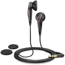 [Cable] Sennheiser MX 375 - Auriculares de botón, Negro