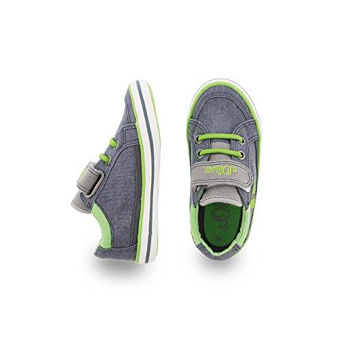 s.Oliver , Chaussures de ville à lacets pour garçon Bleu