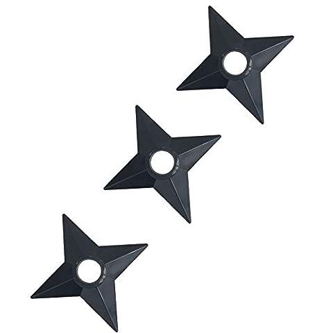 Katara 1735 - Naruto Cosplay Waffen Ninja Shuriken Kunai Wurf-Sterne Messer Kostüm Shippuden (Frankreich Kostüm Für Jungen)