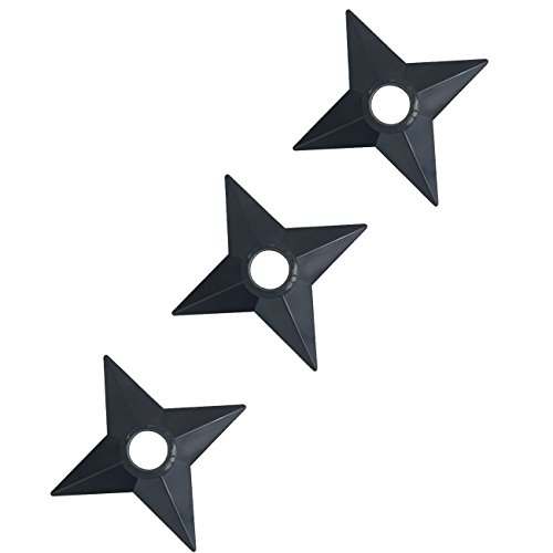 Katara 1735-Naruto cosplay armi Ninja Shuriken Kunai stelle costume Shippuden coltelli, 3x lancio stella per talpe
