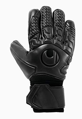 uhlsport Unisex- Erwachsene Torwart-Handschuhe-1011092 Torwart-Handschuhe, schwarz, 10