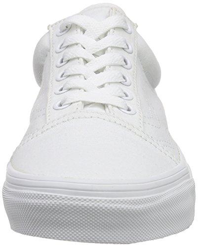Vans Old Skool, Baskets Basses Mixte Adulte Blanc (true white)