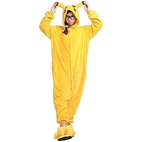 Pijama de Una Pieza Disfraz Animal Carnaval Halloween Cosplay Pijama Traje Adulto Unisexo Ropa de Noche S/M/L/XL