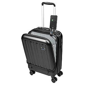 viaje a: Maleta de Viaje de Cabina 55x35x20 Bolsillo Ordenador Portátil con USB de Carga ...
