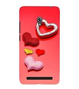 EPICCASE glittering palates Mobile Back Case Cover For Asus Zenfone 6 (Designer Case)