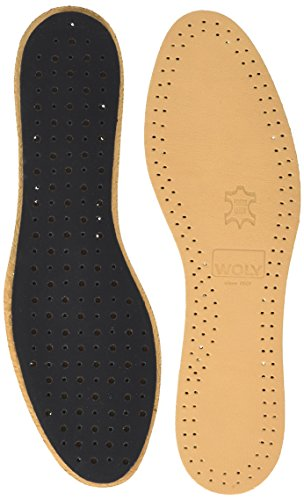 Woly Comfort Leather Insole, Semelles Confort Mixte adulte