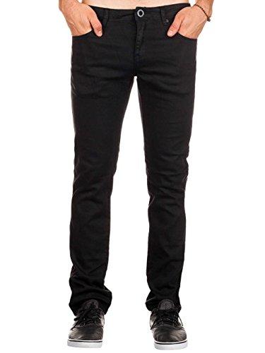 Herren Jeans Hose Volcom Chili Chocker Jeans Tinted Black