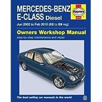 Haynes - Manual de reparación para Mercedes Benz Clase E, de 2002 ...
