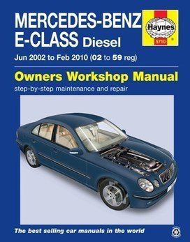 mercedes-benz-e-class-haynes-manual-repair-manual-workshop-manual-service-manual-2002-2010