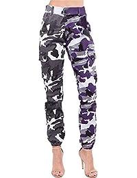Huihong Womens Casual Camouflage Hose Herbst Winter Cool Streetwear Hosen  Outdoor Sport Hosen Cargo Hosen Jogginghose d4ccb02151