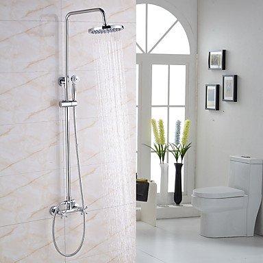 Duscharmaturen - Modern/Zeitgenössisch Chrom Duschsystem