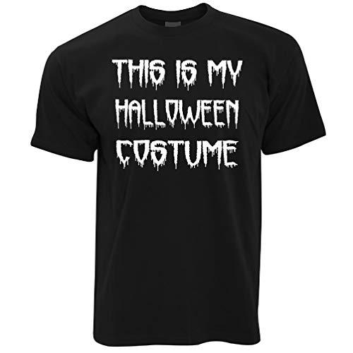 Dieses ist mein Halloween-Kostüm Lustige Spooky Scary Trick Treat Dad Herren T-Shirt