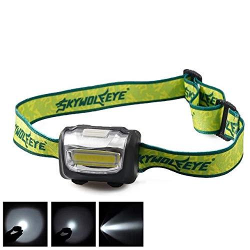 Ulanda-EU Lampe Frontale LED Puissante Rechargeable Torche Frontale Lampe Phare Orientable Headlamp Imperméable 30000 lumens, pour Le Camping, la Course à Pied, la randonnée, la pêche #SQC09 (Noir)