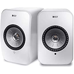 KEF LSX - Enceinte WLAN - Blanc | Enceintes actives avec Bluetooth | Enceinte multiroom | Enceinte Wifi, Airplay 2, Spotify | Meilleures enceintes sans fil