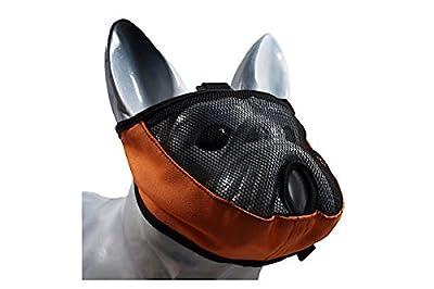 GrandFinale Soft Muzzle for flat-faced dogs: French Bulldog, Pug, Boxer, Pitbull, Shih Tzu, Pekingese by GrandeFinale