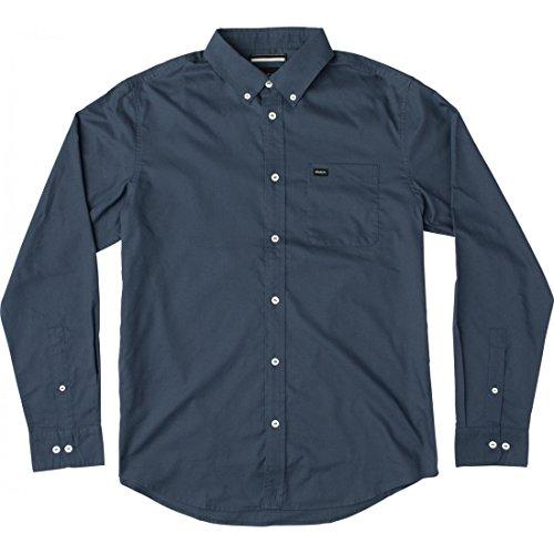 camicia-rvca-thatll-do-oxford-nera-l-nero