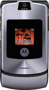 MOTOROLA Téléphone Portable RAZR V3i 1,23 MP Anthracite / Titanium