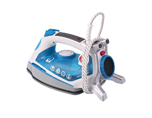 Price comparison product image HOOVER IRON FLOW TIF2600 011 FERRO DA STIRO A VAPORE 2.600W TECNOLOGIA AIRFLOW CAPACITA' 0.4LT COLORE BIANCO/BLU