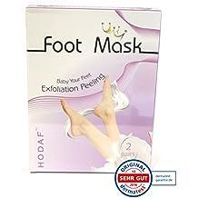 Masque pour les pieds pour éliminer la corne, peeling pour les pieds, masque peeling, 2 paires