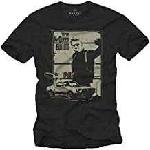 Camiseta Negra Hombre - Bullitt