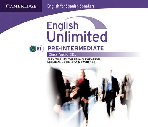 English unlimited for spanish speakers pre-intermediate class audio cds (3) (Edición para España)