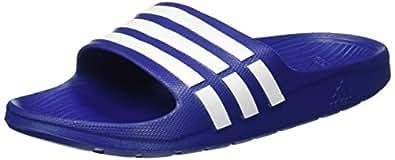 adidas Men's Duramo Slide True Blue, White and True Blue Flip-Flops and House Slippers - 4 UK/India (36.7 EU) (G14309)