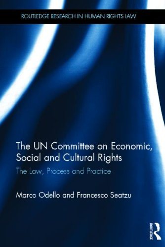 The UN Committee on Economic, Social and Cultural Rights: The Law, Process and Practice (Routledge Research in Human Rights Law)
