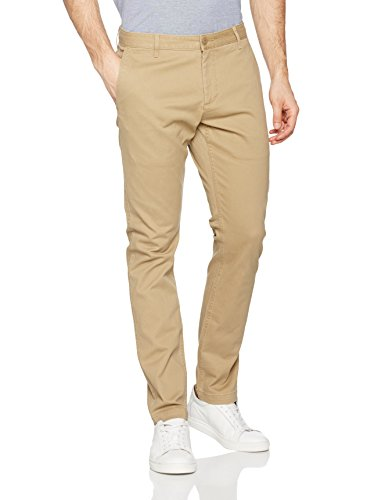 dockers-mens-washed-skinny-stretch-twill-trouser-brown-new-british-khaki-0000-w33-l36