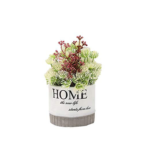 TREESTAR Kreativ Blumentopf Mini Pflanzen Künstlicher Topf Gefälschte Blume Topf für Hochzeit Büro Zuhause Dekoration