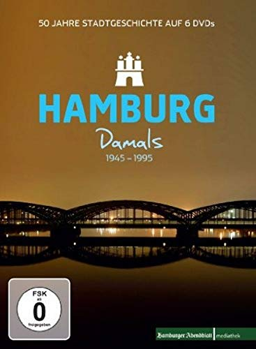 Hamburg Damals 1945-1995 - 50 Jahre Stadtgeschichte [6 DVDs]