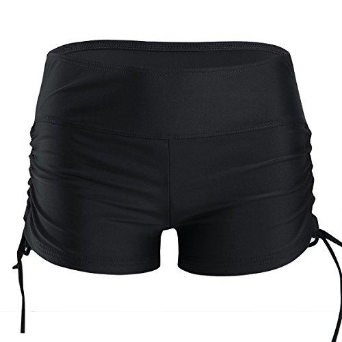 IEFIEL Short de Baño Natación Deporte Mujer Bikini Bottoms Bañador Traje de Baño Pantalones Cortos...