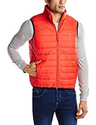 Lee Mens Synthetic Jacket (8907222307141_LEJK1195_X-Large_Red)