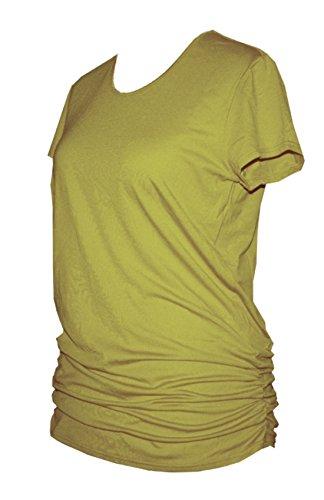 Schneider Sportswear MAURA Damen Shirt Pulli Long-Shirt BESTFORM zitronat