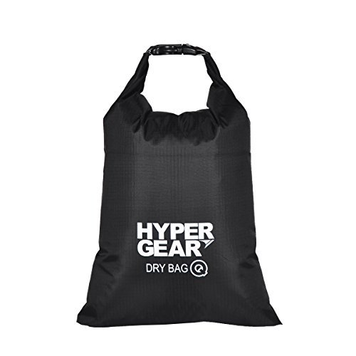 hypergear-compact-and-lightweight-dry-bag-water-repellent-ripstop-nylon-black-2-liters