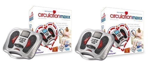 Doppelpack - Zirkulation Maxx Blut Zirkulation Massagegerät - die neue 2012 Elektroflex Generation 3 Medizinisches Gerät - jetzt mit Fernbedienung