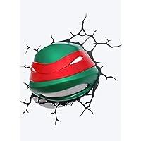 e-concept Distribution France–pdg00000065–TMNT–Raphael 3D Deco Light–Green