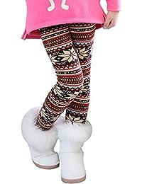 De feuilles Legging Bébé Fille en Coton Pantalon de Sport Collant Motif  Imprimé Chaud ... 080be5cddde