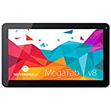 "MegaTAB V8 OctaCore 10.1"" pulgadas 32 GB (2 GB RAM, Octa-Core CPU 8x 2,0 GHz, Android 5.1, HDMI, 2x cámara, tablet PC WiFi) Technikware"
