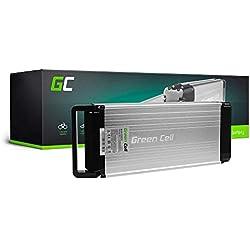GC® EBIKE Batería 36V 14.5Ah Bicicleta Eléctrica Rear Rack Li-Ion con Celdas Panasonic Cityboard Esonic EVO Megamo DB