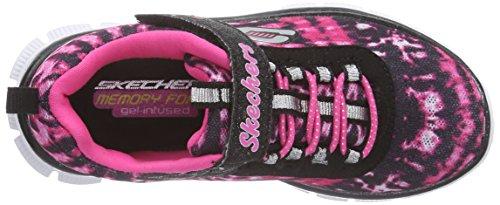 Skechers Skech Appealgroove N Glide, Baskets Basses fille Multicolor (bkhp)