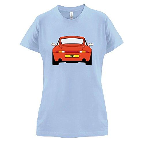 Porsche 993 Orange - Damen T-Shirt - 14 Farben Himmelblau
