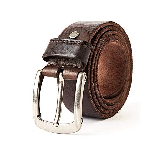 Neue Modemarke Luxus Ledergürtel Für Männer Vintage Top Echtes Lederarmband Für Cowboys Jeans Bund Trim Jeans Hose