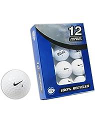 Second Chance Nike - Lote de pelotas de lago para golf (12 unidades)