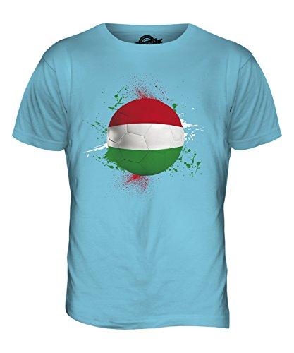 CandyMix Ungarn Fußball Herren T Shirt Himmelblau