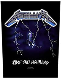 Metallica espalda parche–Ride the Lightning–Metallica Back Patch