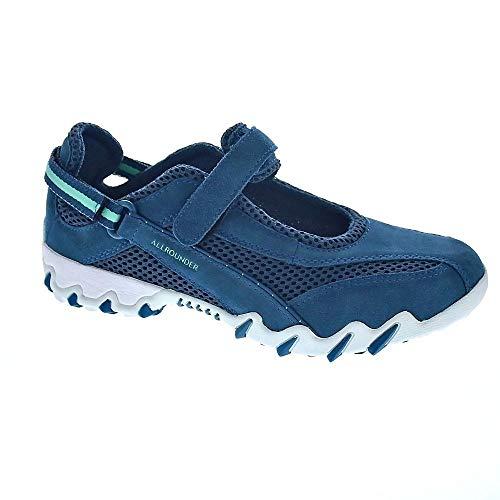 Allrounder by Mephisto Damen Niro Laufschuhe, Blau (True Navy/True Navy C.Suede 22/S.Mesh 55), 37 EU True Navy Schuhe