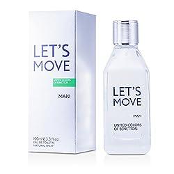 Benetton Lets Move Eau De Toilette Spray 100ml/3. 3oz